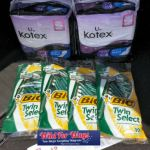 Walgreens: U By Kotex & BIC Razors Products Only $0.63