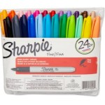 Sharpie Fine Point Permanent Marker, Assorted Colors, 24-Pack ONLY $9.88 (Reg. $30.49)!