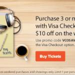 Fandango: Up to $23 Off 3 Movie Tickets