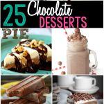 25 Delicious Chocolate Desserts