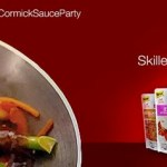 McCormick Skillet Sauces House Party = FREE Apron, Sauces, Recipes and more!