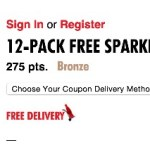 FREE Sparkling Water 12-pack Coupon