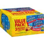 Target: Capri Sun Juices 30 Pack Only $3.20