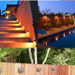 6 pack of LED Light Control Outdoor Wall Light Solar Lamps Only $3.79 (Reg. $9) + FREE Shipping