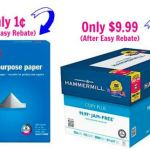 Staples: $0.01 Copy Paper, 20% Off K-Cups, 15% Off UPS Shipping, + More