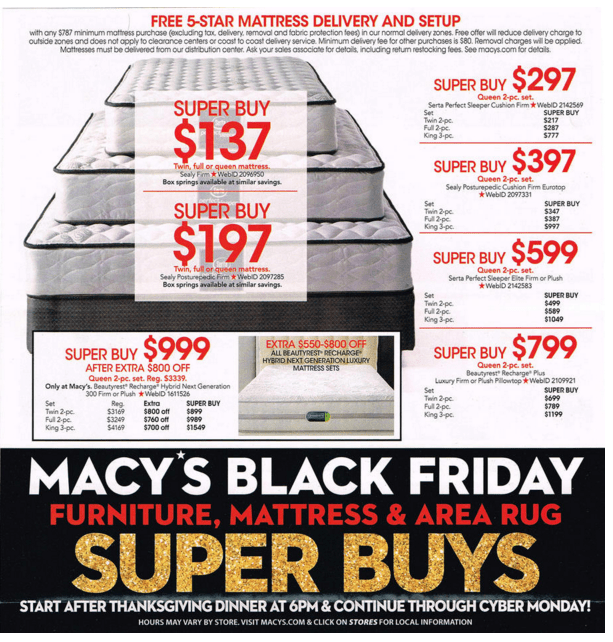 Macy's black friday online coupons