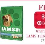 *HOT* Target: Iams Dry Dog Food 15 lb Bag ONLY $2.95 (Reg. $17.99!)