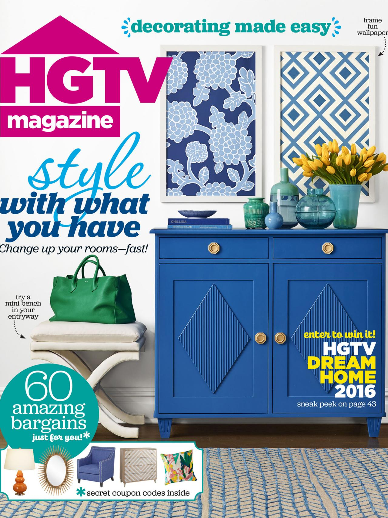 what is hgtv magazine 7