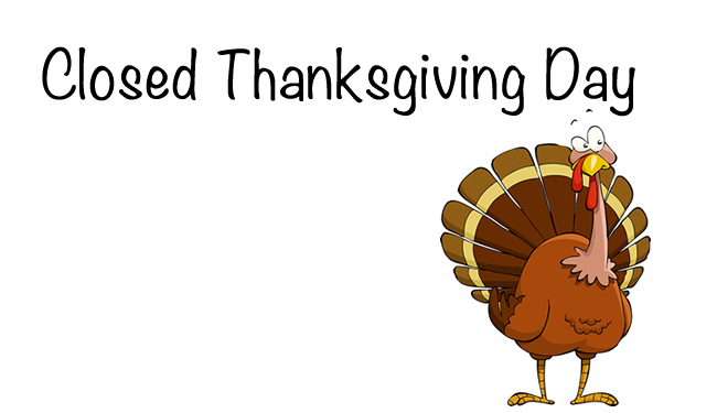 Stores that are CLOSED on Thanksgiving 2018