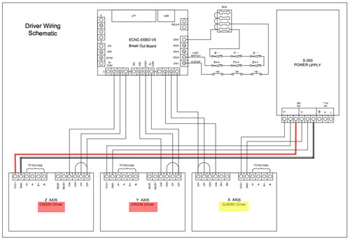 cw230 driver cnc wiring diagram