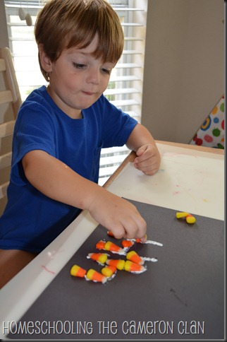 10-11-11 Letter H, Candy Corn 006