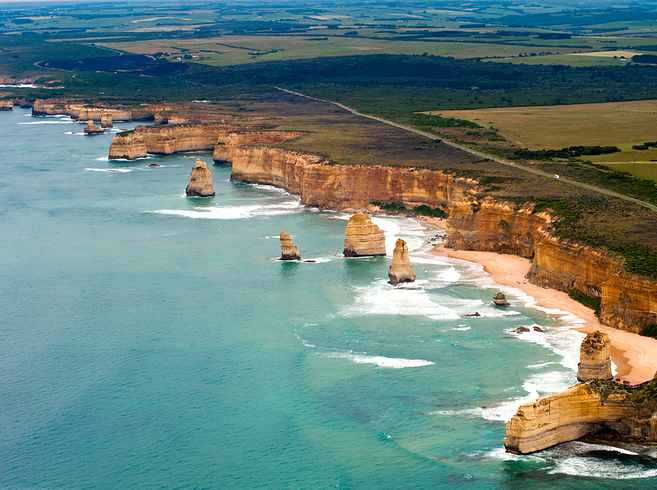 Great Ocean Road in Victoria, Australia2