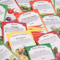 Garden Planning- Helpful Lists: Seed Varieties