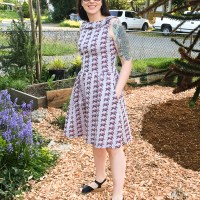 "Colette Patterns Moneta ""Kentucky Derby"" Dress"