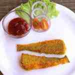 Lady fish rava fry