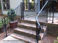 Durham NC Deck Railings - Raleigh Wrought Iron Co.