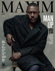 Idris Elba on Maxim