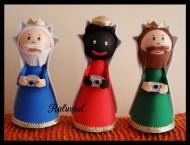 Fofuchas Reyes magos