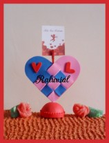 Portafotos corazon San Valentin