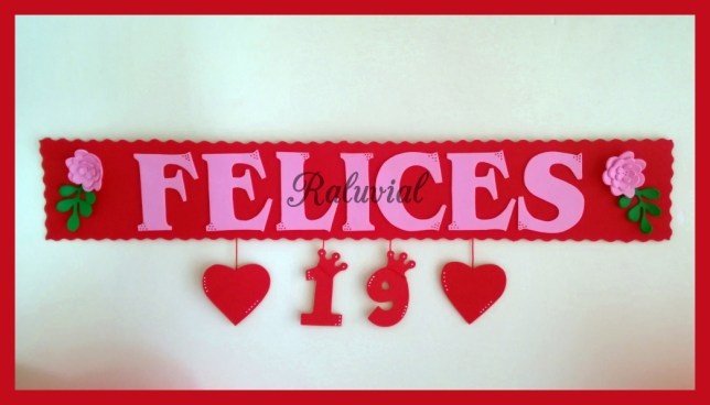 CARTEL FELICES 19