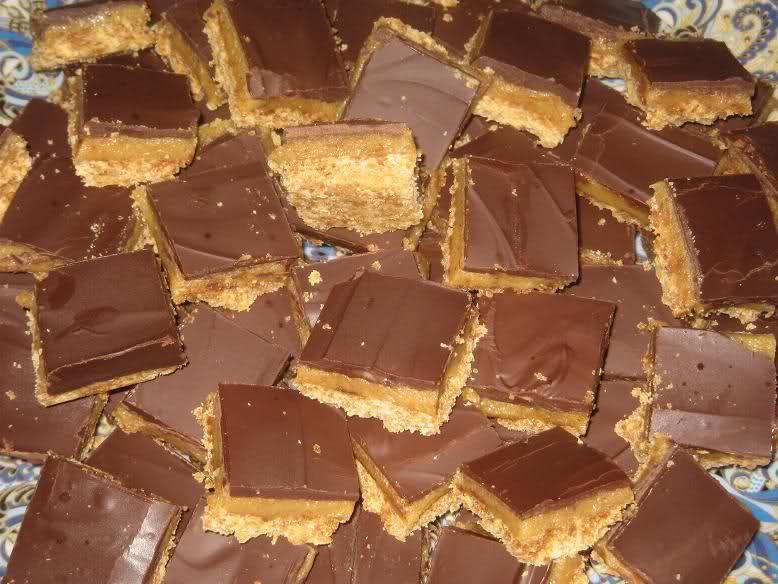 Choco caramelkoekjes