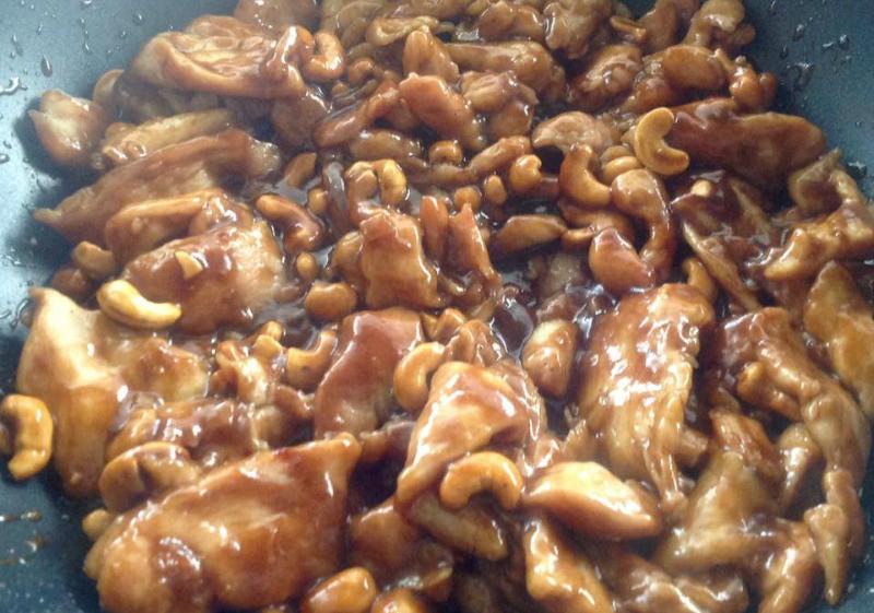 Chinese Cashew Chicken