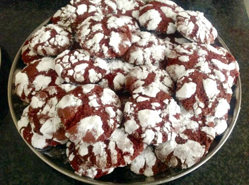 Red Velvet Creamcheese Cookies