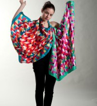 Italian brand of silk scarves | Rama Scarves Collection