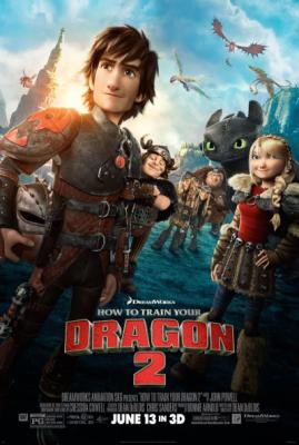 HTTYD – Here's The Brand New Poster For HOW TO TRAIN YOUR DRAGON ...