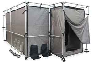 Ra Mayes Sfi High Security Rf Shielded Tents Ez Up Frame