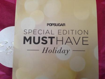 PopSugar Special Edition Must Have Holiday