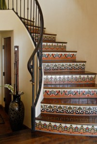 Tile Stairs on Pinterest | Tile Entryway, Mexican Tiles ...