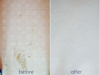 A Bathroom Tile Makeover...With Paint  Ramshackle Glam