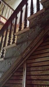 Haunted stairway?