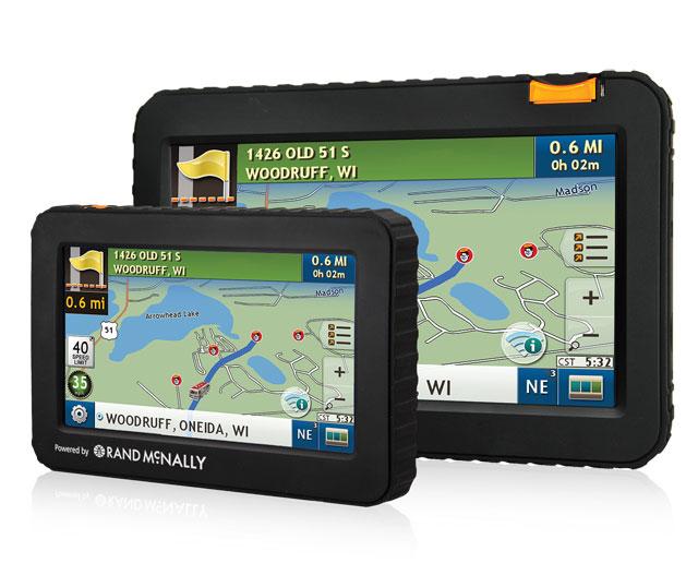 Rand McNally Good Sam GPS powered by Rand McNally - trip maker software