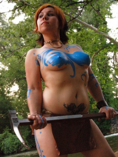 painted breasts
