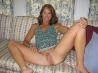 milf on couch