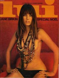 Jane Birkin for Lui Magazine