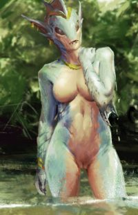 Sexy Water lady