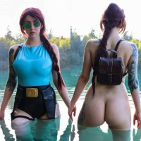 Lisha Blackhurst, Lara Croft