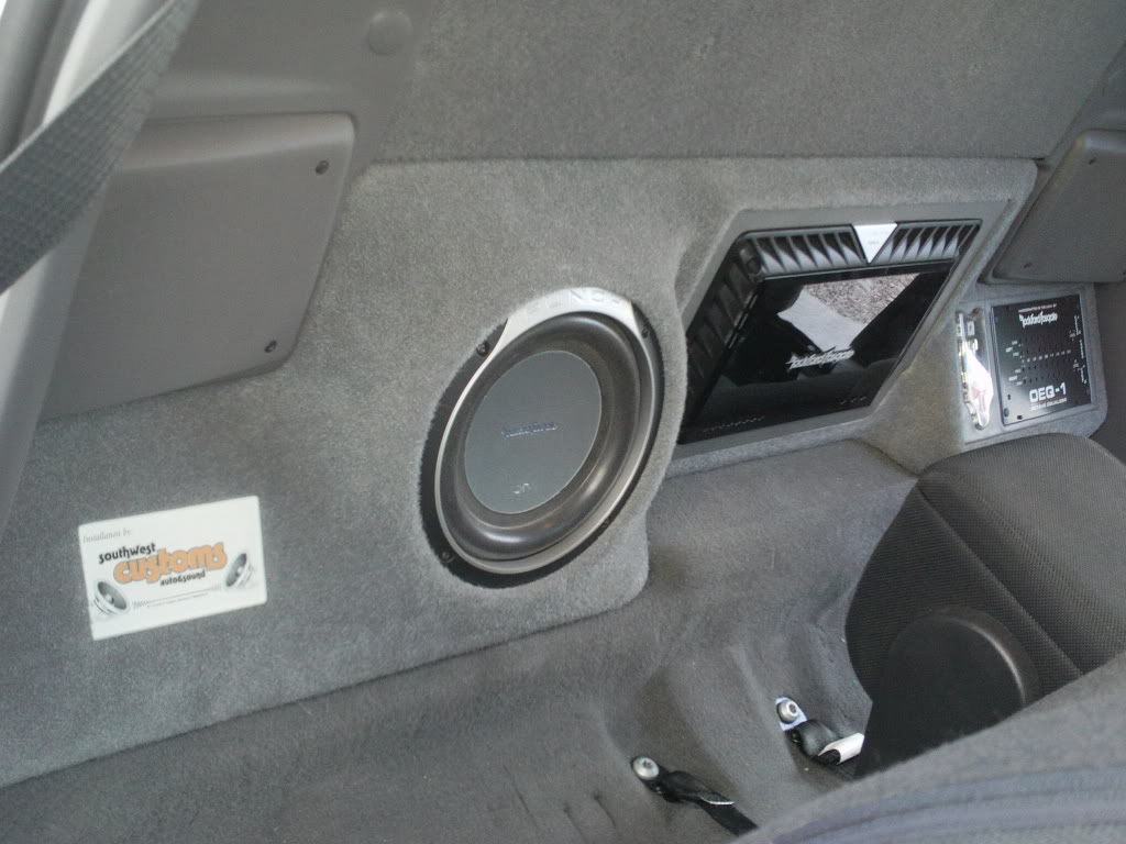 Show Off Your Regular Cab Subs Page 7 Ranger Forums