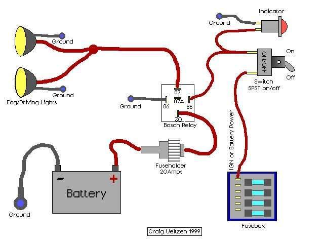 A Fog Light Wiring Diagram - Carbonvotemuditblog \u2022