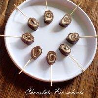Chocolate recipes |Chocolate Pinwheels | Home made chocolate recipe