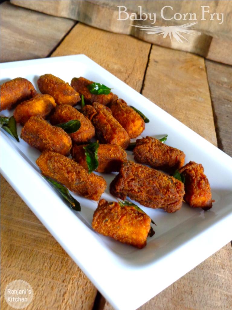 Baby Corn Fry | baby Corn recipes  | Snacks