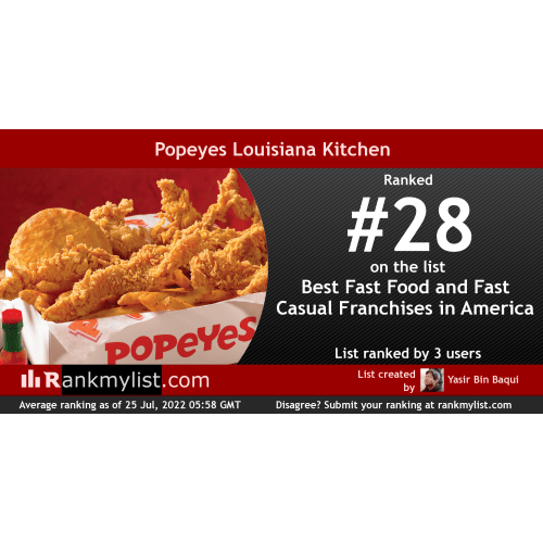 Medium Crop Of Popeyes Menu Prices