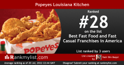 Small Of Popeyes Menu Prices