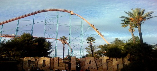 Fastest Steel Roller Coasters-goliath