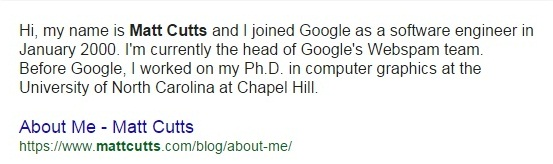 1 who is matt cutts 1