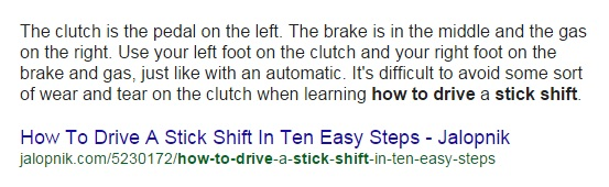 how to drive stick shift