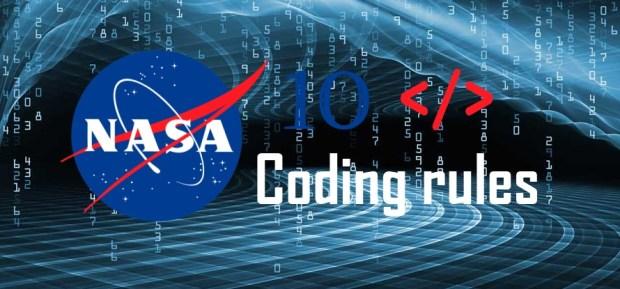 NASA 10 Coding Rules